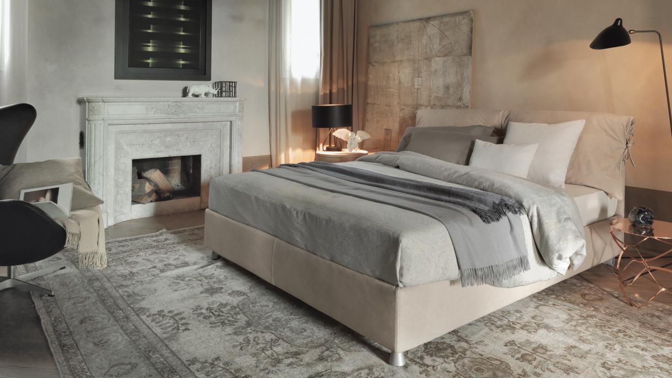 Chi acquista un letto Flou ha sempre qualcosa in più | Chave ...